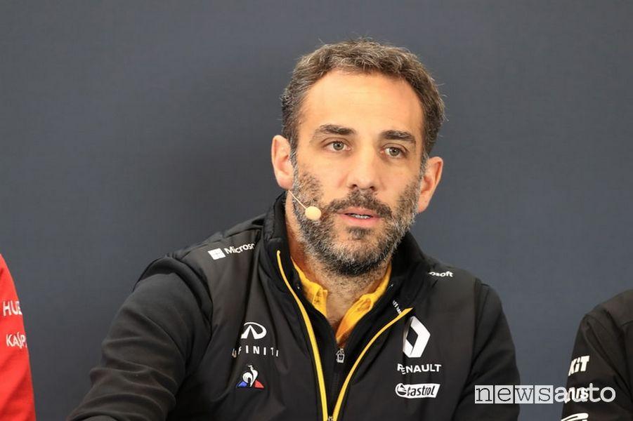 Cyril Abiteboul, Direttore Generale di Renault Sport Racing