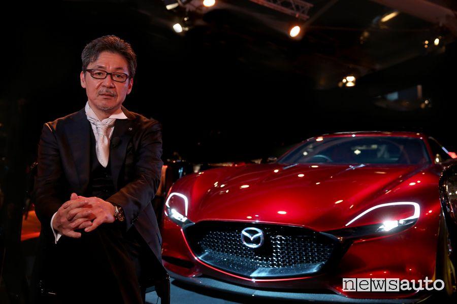 Ikuo Maeda, il capo del design Mazda spiega il Kodo design