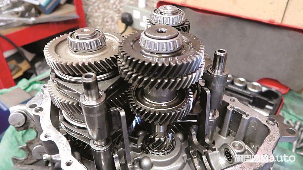 Cambio 6 marce M32 Gearbox aperto