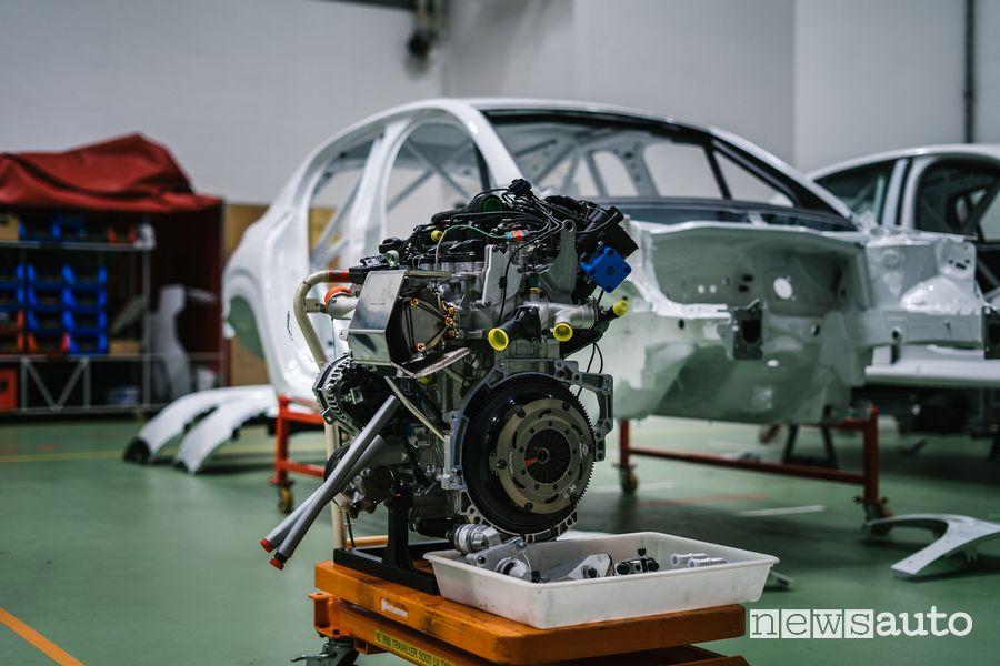 Motore 1.2 PureTech 208 CV Peugeot 208 Rally4