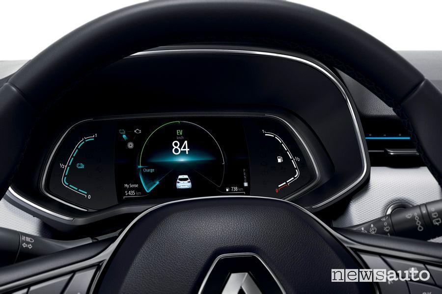 Cruscotto quadro strumenti Renault Clio E-Tech ibrida