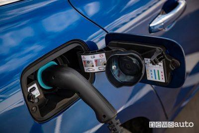 Presa di tipo 2 Renault Mégane E-Tech plug-In PHEV