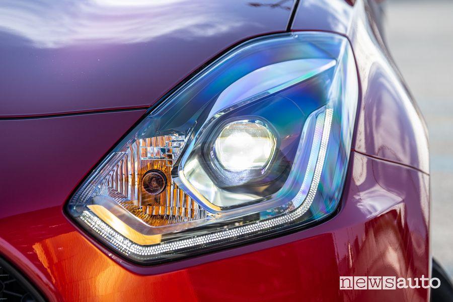 Faro anteriore a led della Swift Hybrid 2020