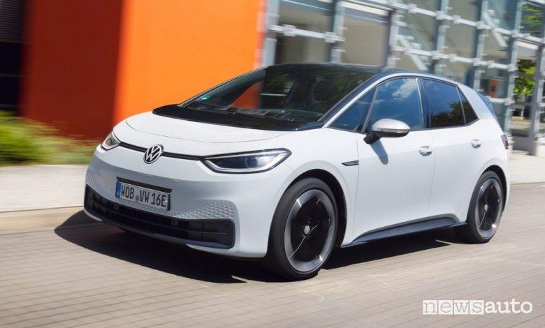 Volkswagen ID.3 prezzi, allestimenti e configurazioni