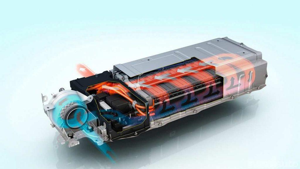 Batteria agli ioni di litio con raffreddamento ad aria