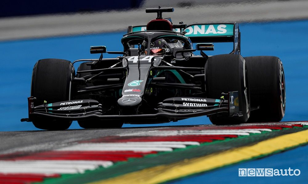 Qualifiche F1 Gp Austria 2020, la griglia di partenza