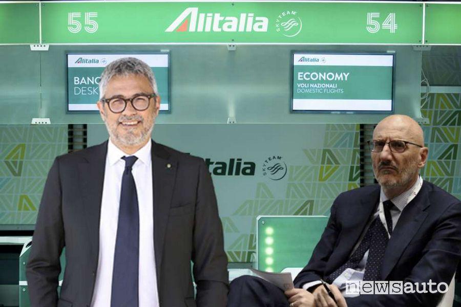 Francesco Caio presidente e Fabio Lazzerini ad di Alitalia