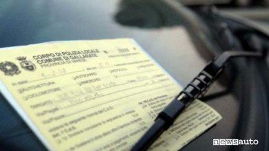 Photo of Multa per sosta auto con motore acceso, sanzione