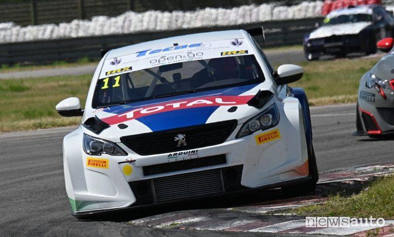 Trofeo Super Cup, secondo posto per la Peugeot 308 TCR a Magione