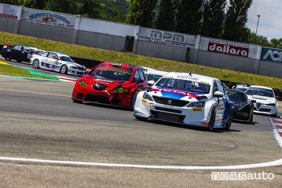 Peugeot 308 TCR gara turismo Varano ATCC