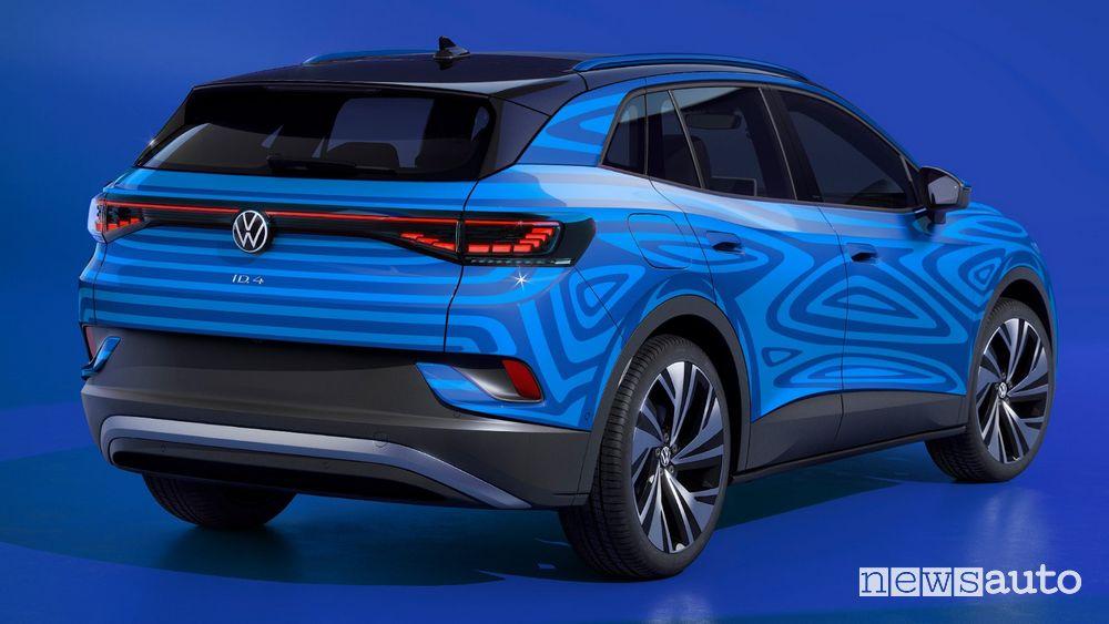 SUV elettrico Volkswagen ID.4 produzione Emdem