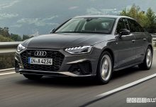 Photo of Audi A4 benzina e diesel ibrida MHEV, caratteristiche