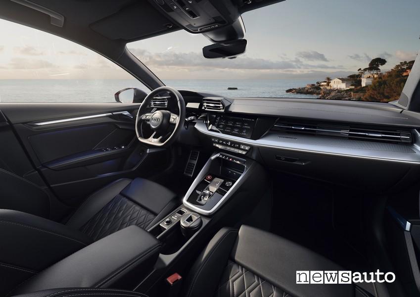 interni audi S3 Sedan
