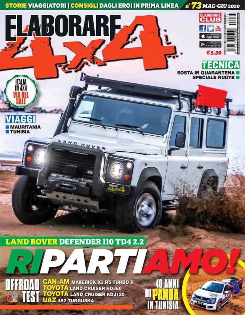 Il vecchio Land Rover Defender, l'icona del fuoristrada di grandissimo successo, magazine ELABORARE 4x4