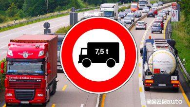 Photo of Date e domeniche 2021, divieto di circolazione in autostrada per camion