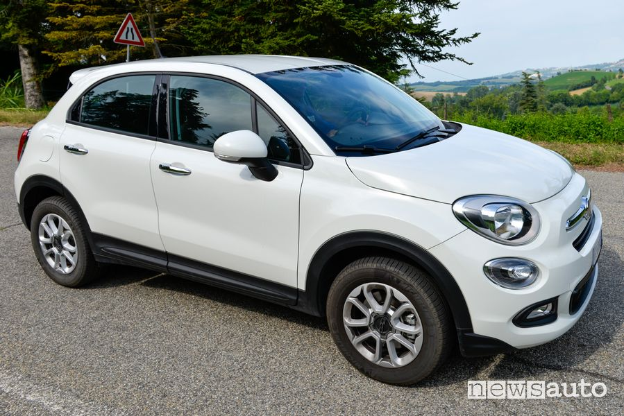 Fiat 500X benzina trasformata in metano