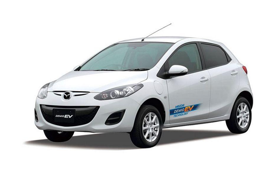 Mazda2 EV elettrica del 2012