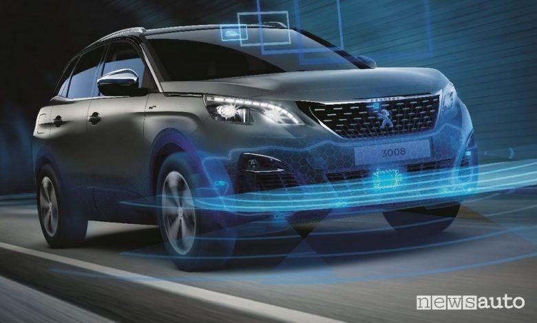 Sistemi ADAS Peugeot 3008