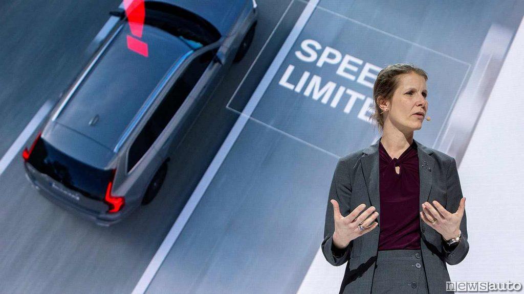 Malin Ekholm, responsabile del Centro Sicurezza di Volvo Cars