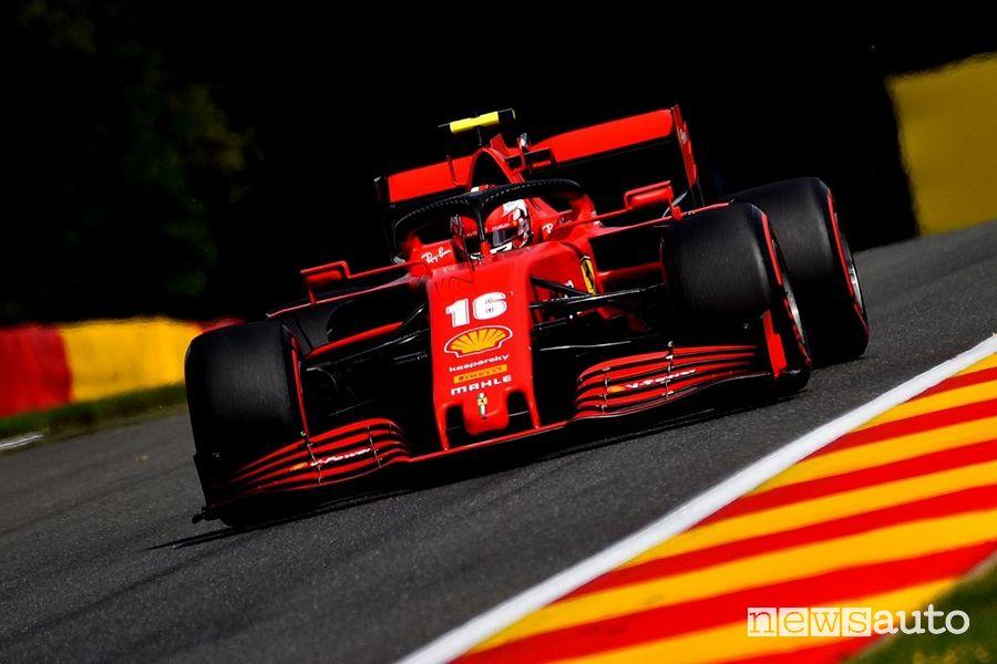 F1 Gp Belgio 2020 Ferrari Charles Leclerc