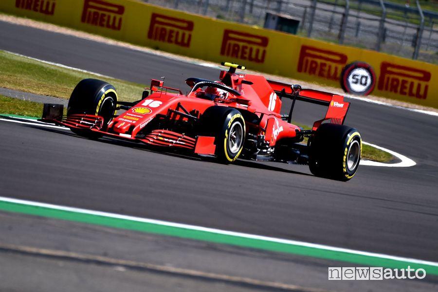 Qualifiche F1 GP 70° Anniversario f1 2020 Ferrari Leclerc