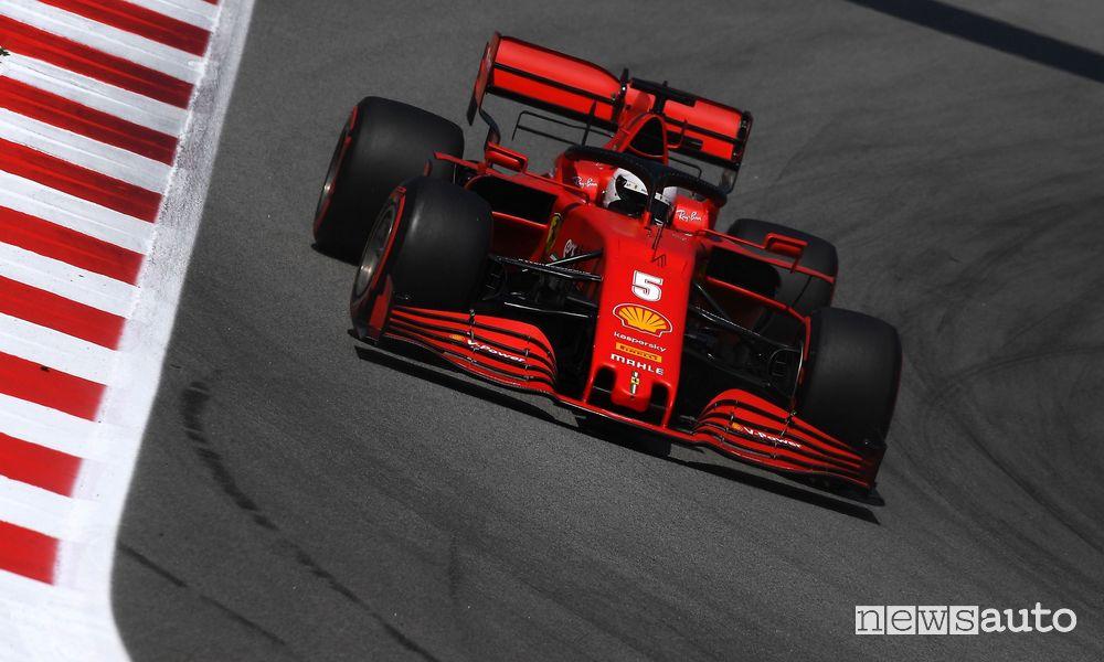 F1 2020 Gp Spagna Ferrari Sebastian Vettel