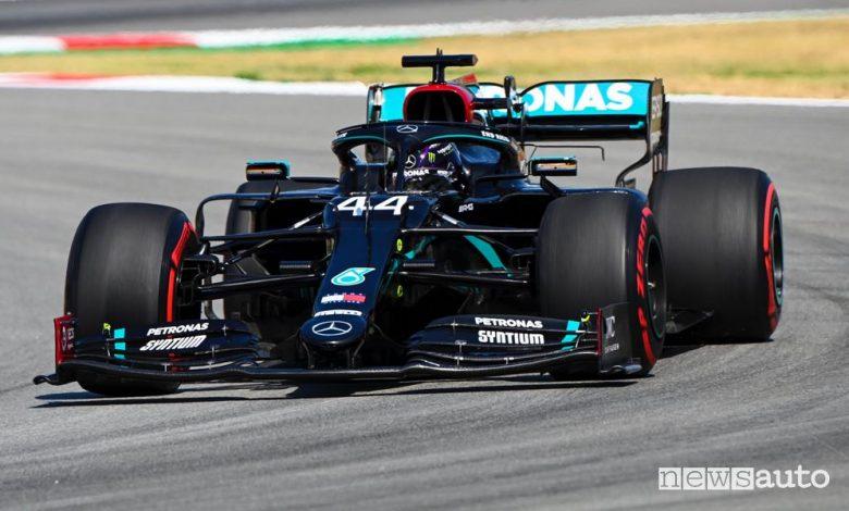 Qualifiche F1 Gp Spagna 2020, la griglia di partenza