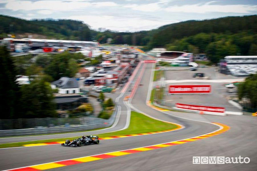 Orari Gp Belgio F1 2021 diretta SKY e differita TV8