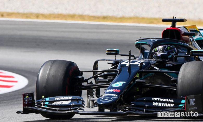 F1 Gp Spagna 2020, Mercedes domina con Hamilton