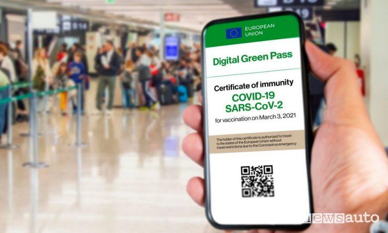 Green Pass obbligatorio, quando e dove serve su treni, aerei e navi