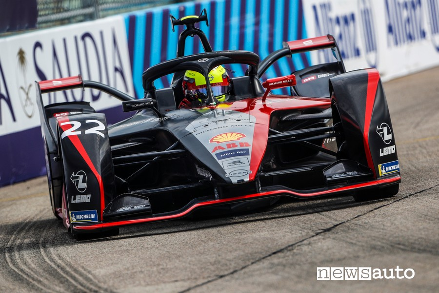 ePrix Berlino 2020 Formula E Oliver Rowland Nissan