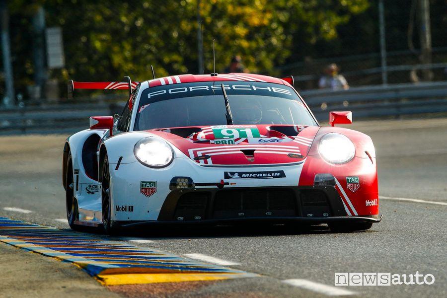 Porsche 911 RSR Gianmaria Bruni  categoria LMGTE PRO QUALIFICHE 24 ORE DI LE MANS 2020