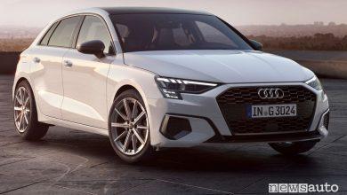 Photo of Audi A3 Sportback a metano monovalente g-tron, caratteristiche e prezzi