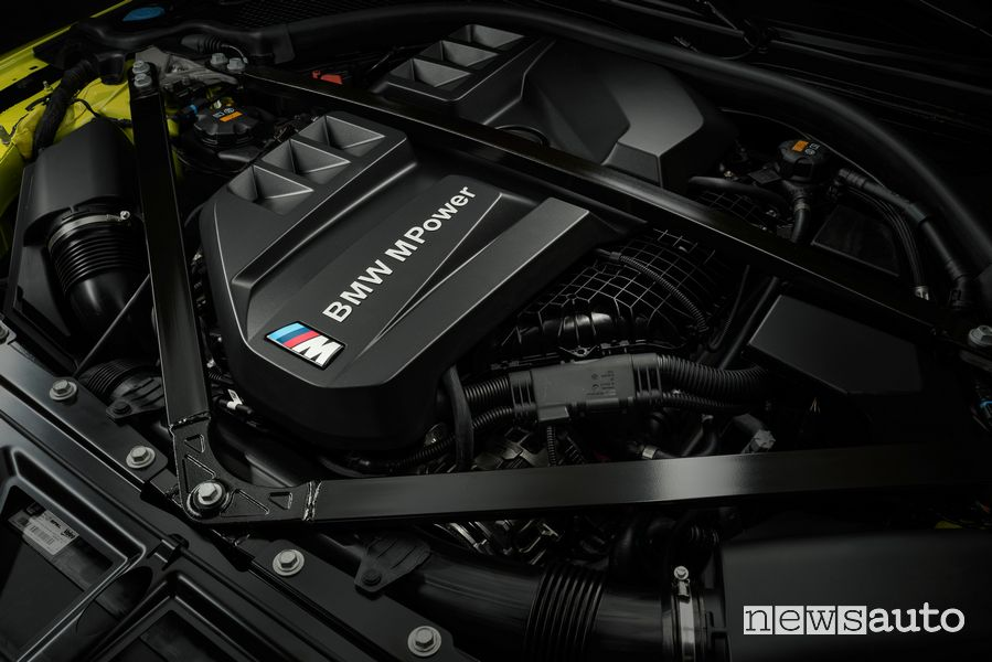 Vano motore BMW M4 Competition