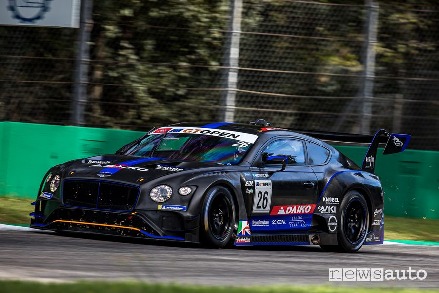 Bentley Continental GT3 Crestani-Mettler International GT Open Monza 2020