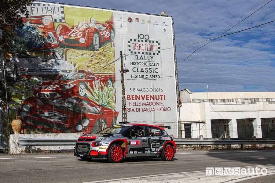 Rally Targa Florio 2020, Citroën andrea crugnola