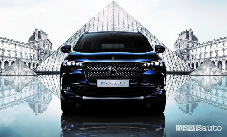 Frontale DS 7 Crossback Louvre