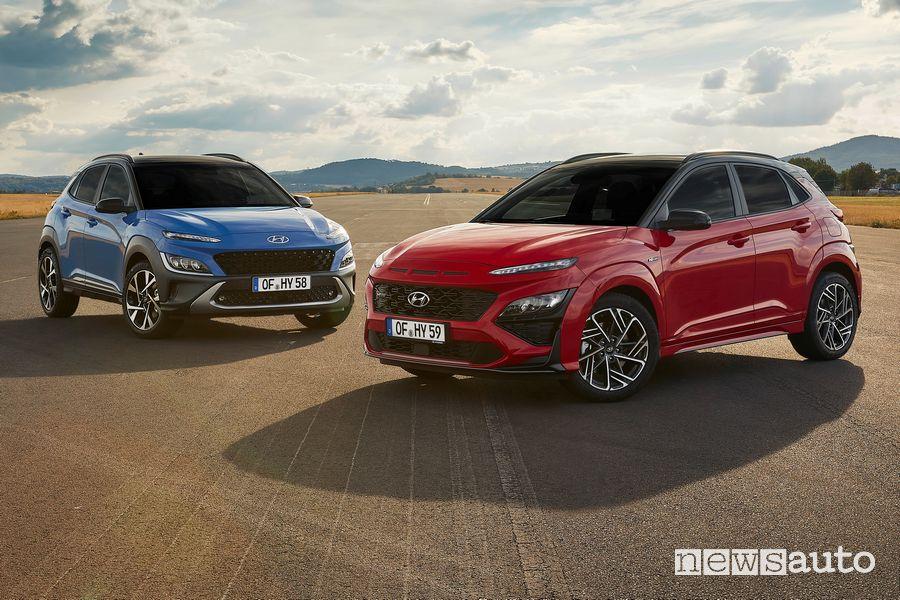 Nuova Hyundai Kona 2021 e Kona N Line