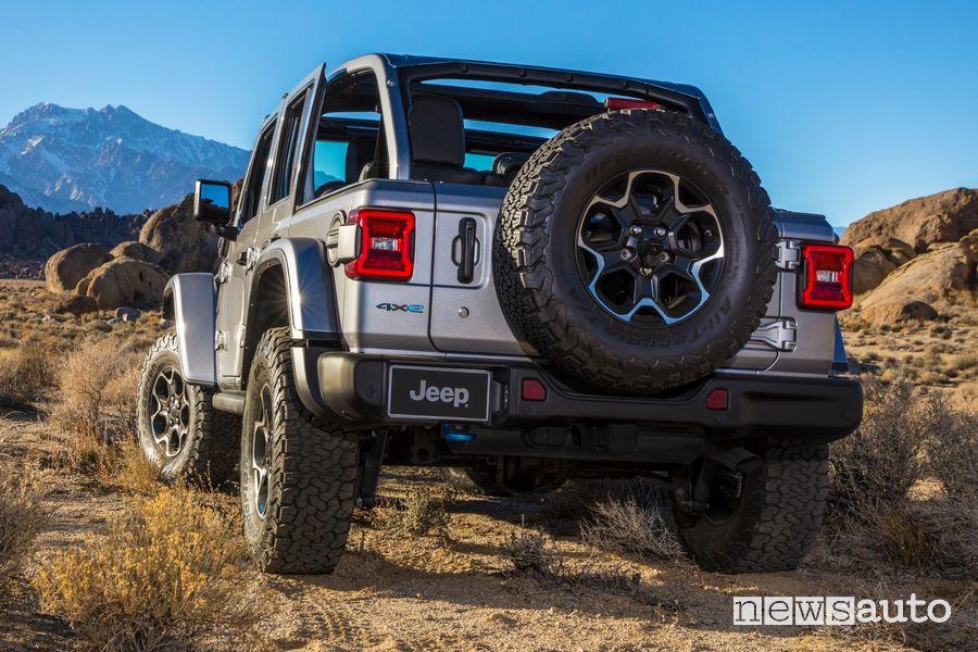 Ruota di scorta Jeep Wrangler Rubicon 4xe