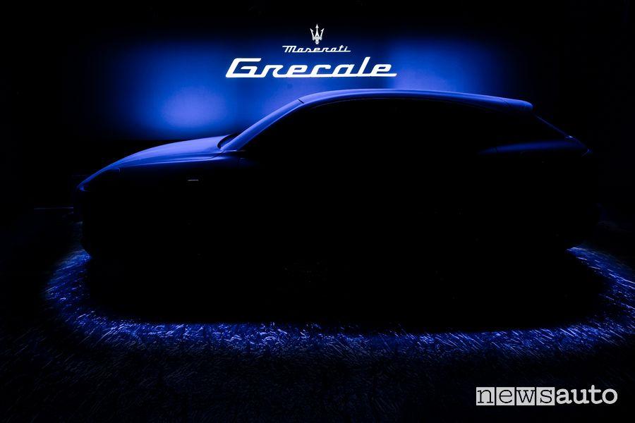 Maserati Grecale è un SUV compatto anterprima