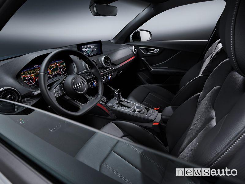 Volante abitacolo nuova Audi Q2