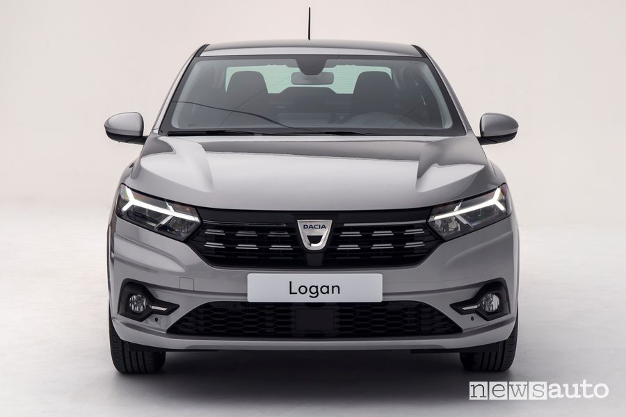 Frontale nuova Dacia Logan