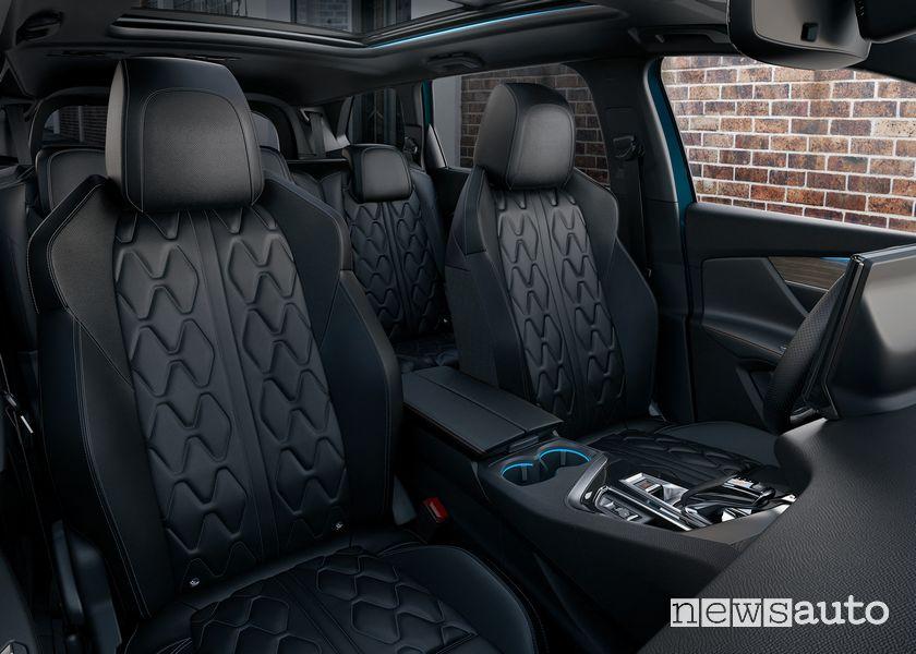 Abitacolo SUV 7 posti nuovo Peugeot 5008