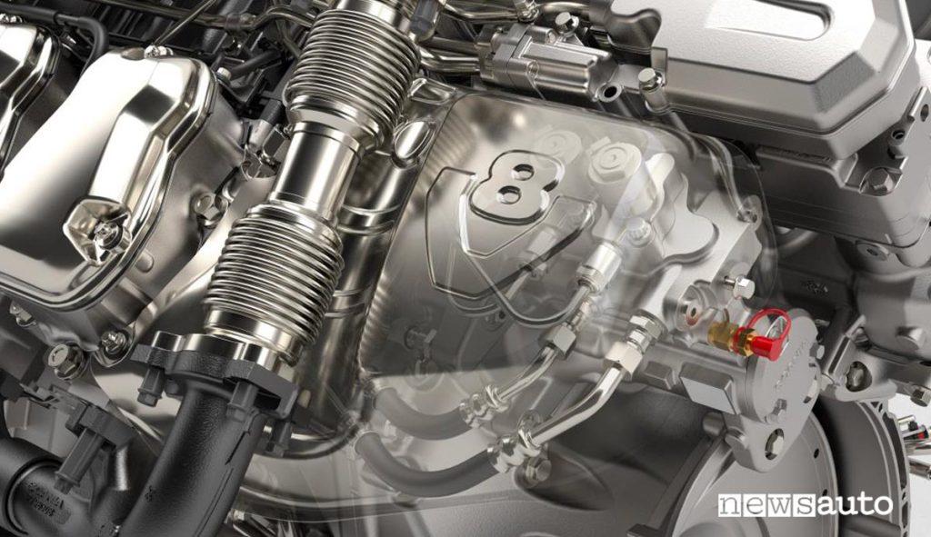 La nuova generazione motori V8 Scania. Pompa di carburante con misurazione attiva del dosaggio d'ingresso