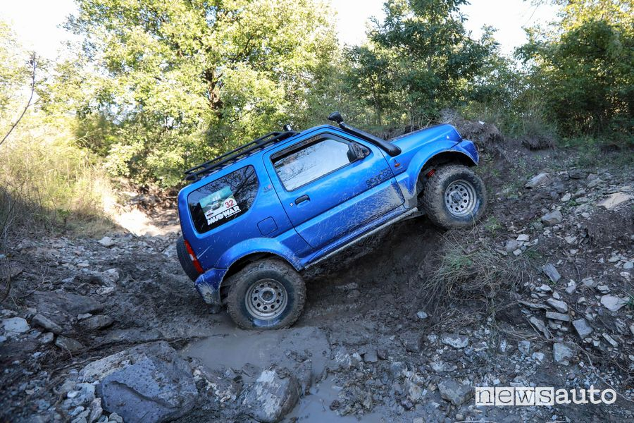 Variante hard pietraia al 9° raduno Suzuki 4x4