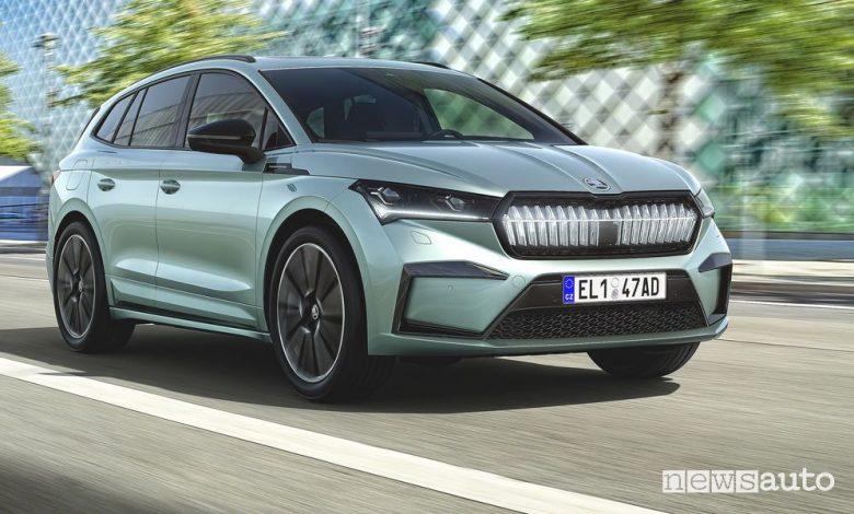 Škoda Enyaq iV SUV elettrico, caratteristiche, batteria e prezzi