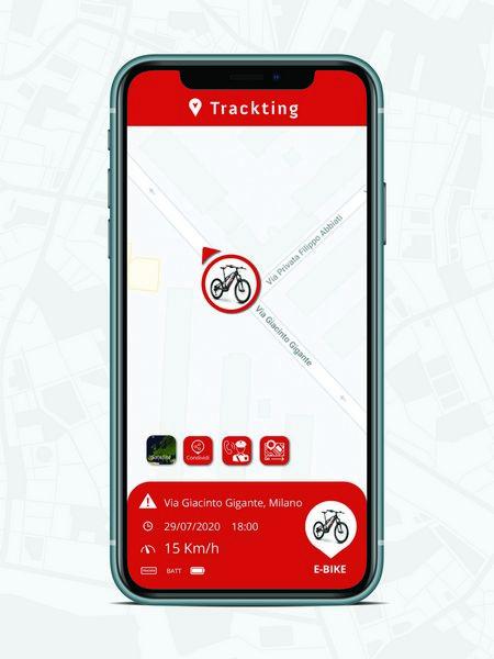 Localizzatore GPS in caso di emergenza Trackting Evo