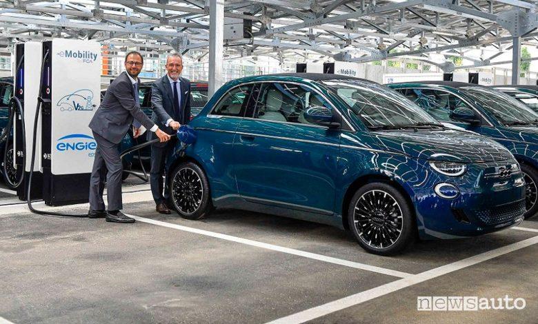Vehicle to grid, inaugurato l'impianto di Torino Mirafiori