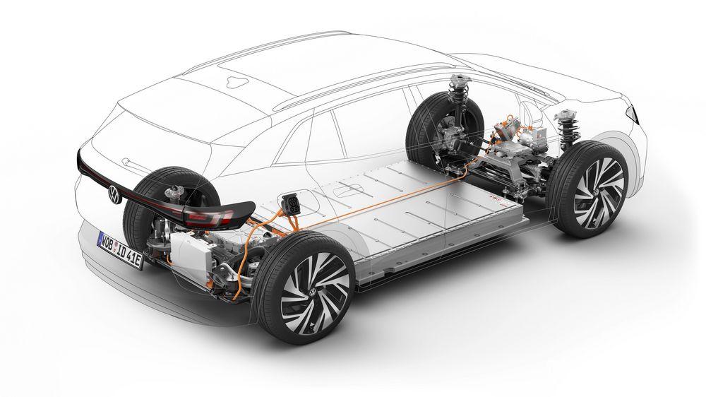 Piattaforma unica per veicoli elettrici