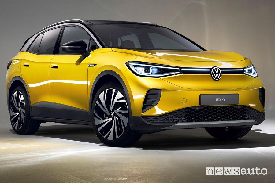 Vista di profilo Volkswagen ID.4 1ST Max